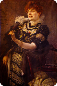 Portrait of Mrs. Daniel Lesueur